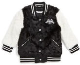 Little Marc Jacobs Toddler Girl's Faux Fur Jacket