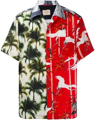Buscemi Palm Tree Print Shirt