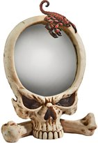 Design Toscano CL3974 Sting of The Scorpion Skull Wall Mirror