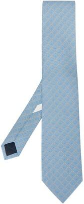 Salvatore Ferragamo rope-print Gancini-pattern tie