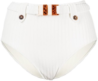 Solid & Striped The Annie belted bikini bottoms