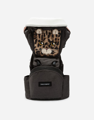 Dolce & Gabbana Leopard Baby Carrier