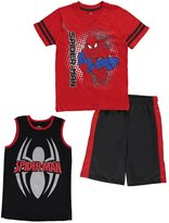 "Spiderman Big Boys' ""Webbed Heroics"" 3-Piece Set"