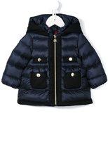 Moncler 'Ramla' padded jacket - kids - Feather Down/Polyamide/Wool - 3-6 mth