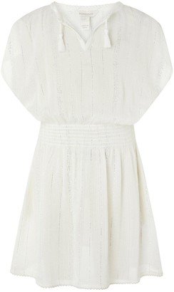 Monsoon Girls Willabelle Kaftan - White