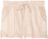 Vanessa Bruno Athé Linen and silk-chiffon shorts