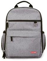 Skip Hop Infant 'Duo Signature' Diaper Backpack - Grey