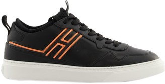 Hogan H365 Sneakers Black/orange