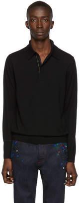 Paul Smith Black Pullover Polo