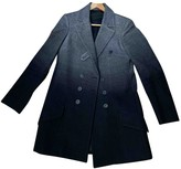 Dondup Grey Wool Coat for Women