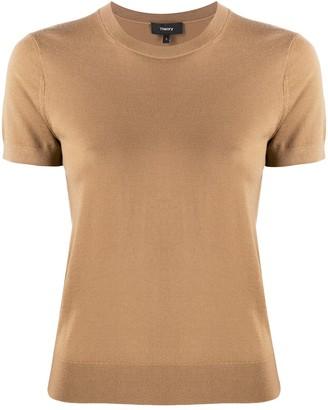 Theory crew neck wool T-shirt