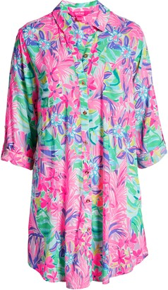Lilly Pulitzer Natalie Cover-Up Shirtdress