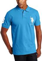 U.S. Polo Assn. Men's Solid Short Sleeve Pique Polo