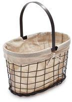 Sur La Table Madeline Basket with Linen Liner