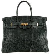 Hermes Alligator Birkin 35