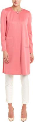 St. John Milano Wool-Blend Duster Coat