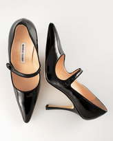 Patent Leather Mary Jane, Black