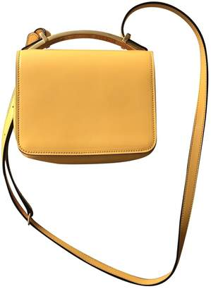Marni Yellow Patent leather Handbags