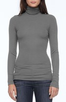 Michael Stars Women's Rib Knit Turtleneck