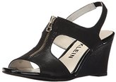 Anne Klein Women's Edan Fabric Wedge Sandal