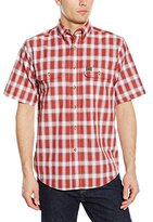 Wrangler RIGGS WORKWEAR Men's Foreman Plaid Work Shirt