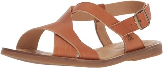 El Naturalista Women's N5181 Dolce Henna/Tulip Flat Sandal 40 Medium EU (9 US)