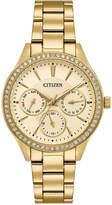 Citizen Women's Quartz Gold-Tone Stainless Steel Bracelet Watch 36mm ED8168-58P, A Macy's Exclusive Style