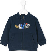 Levi's Kids printed zipped jacket