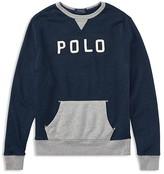 Ralph Lauren Boys' French Terry Sweatshirt - Big Kid