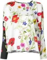 Blugirl floral print blouse