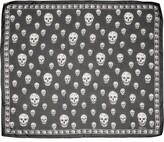 Alexander McQueen Skull Foulard Silk Scarf