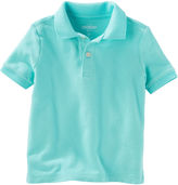 Osh Kosh Oshkosh Short Sleeve Solid Polo Shirt - Toddler Boys