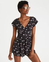 American Eagle Outfitters AE Deep V-Neck Romper