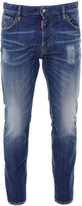 DSQUARED2 Straight Leg Boot Cut Jean Jeans