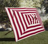 Pottery Barn Rectangular Market Umbrella - Stripe
