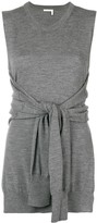 Chloé knot-detail sleeveless knitted top