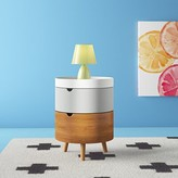 Mid-Century MODERN Campanella 3-Tier Wood Nightstand Hashtag Home
