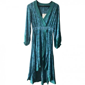 Spell & The Gypsy Collective Turquoise Viscose Dresses