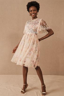 Needle & Thread Floral Diamond Midi Dress