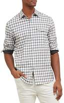 Kenneth Cole New York Men's Long Sleeve Grindle Check Shirt