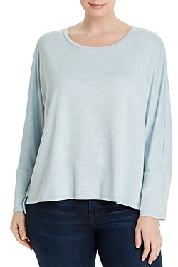 Cupio Plus Dolman-Sleeve Top