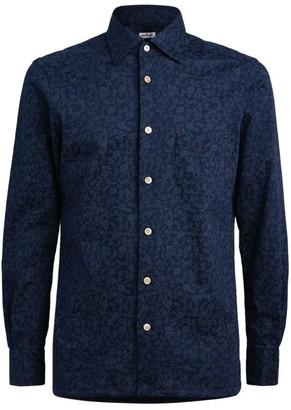 Kiton Floral Print Shirt