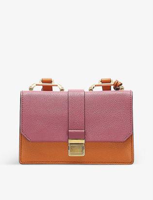 Resellfridges Pre-loved Miu Miu Madras leather cross-body bag