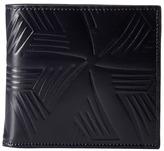 Marni Flower Embossed Leather Bifold Wallet Handbags