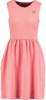 Love Moschino Pleated cloqué dress
