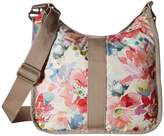 Le Sport Sac Weekender Hobo Waterlily Garden