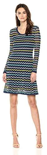 M Missoni Women's Zig Zag Relief Dress