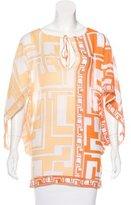 Emilio Pucci Printed Sleeveless Tunic
