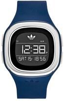 adidas 'Denver' Digital Silicone Strap Watch, 42Mm