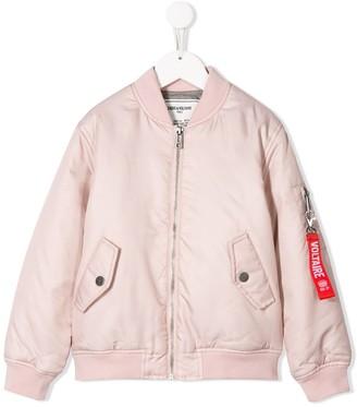 Zadig & Voltaire Kids Benet bomber jacket
